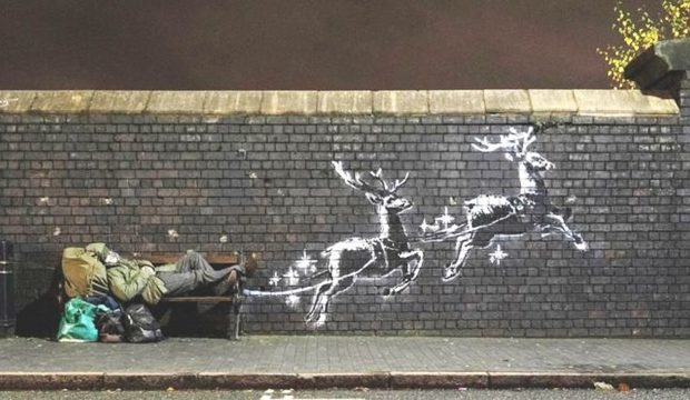 Banksy'nin Yeni Yıl Mesajı
