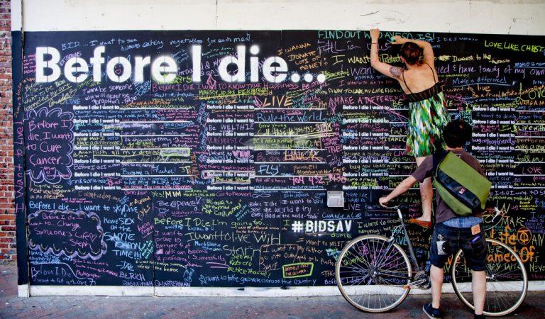 Ölmeden Önce Ne Yapmak İstersiniz ?