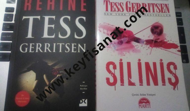 Tess Gerritsen Siliniş ve Rehine Kitapları Neden Aynı ?