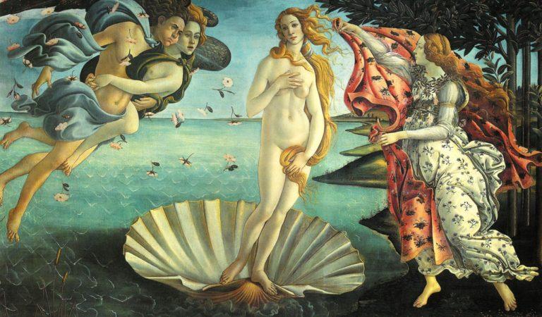 Venüs'ün Doğuşu Tablosu Aslında Ne Anlatıyor ?
